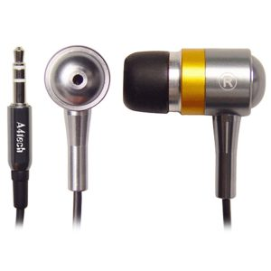 A4TECH SecureFit Metallic Earphones
