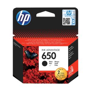 HP 650 Black Ink