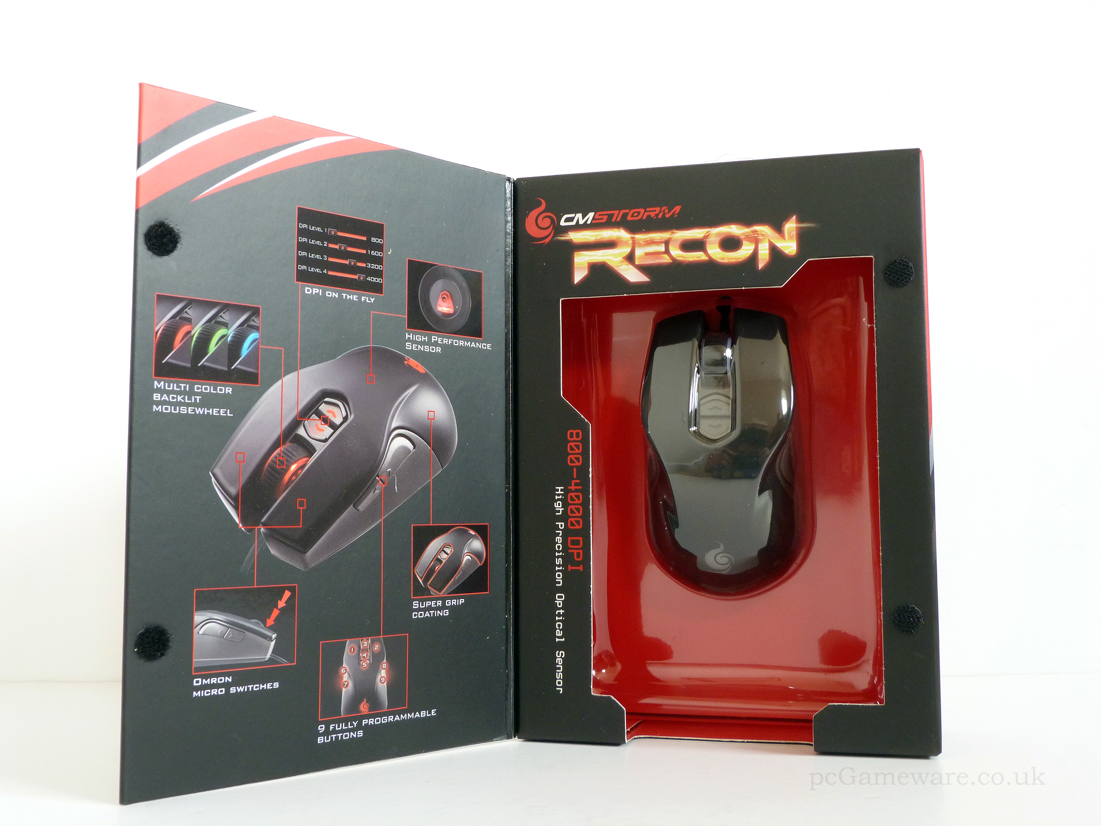 b95f3d8acb8 Cooler Master - Storm Recon Optical Gaming Mouse - DT Solutions ...