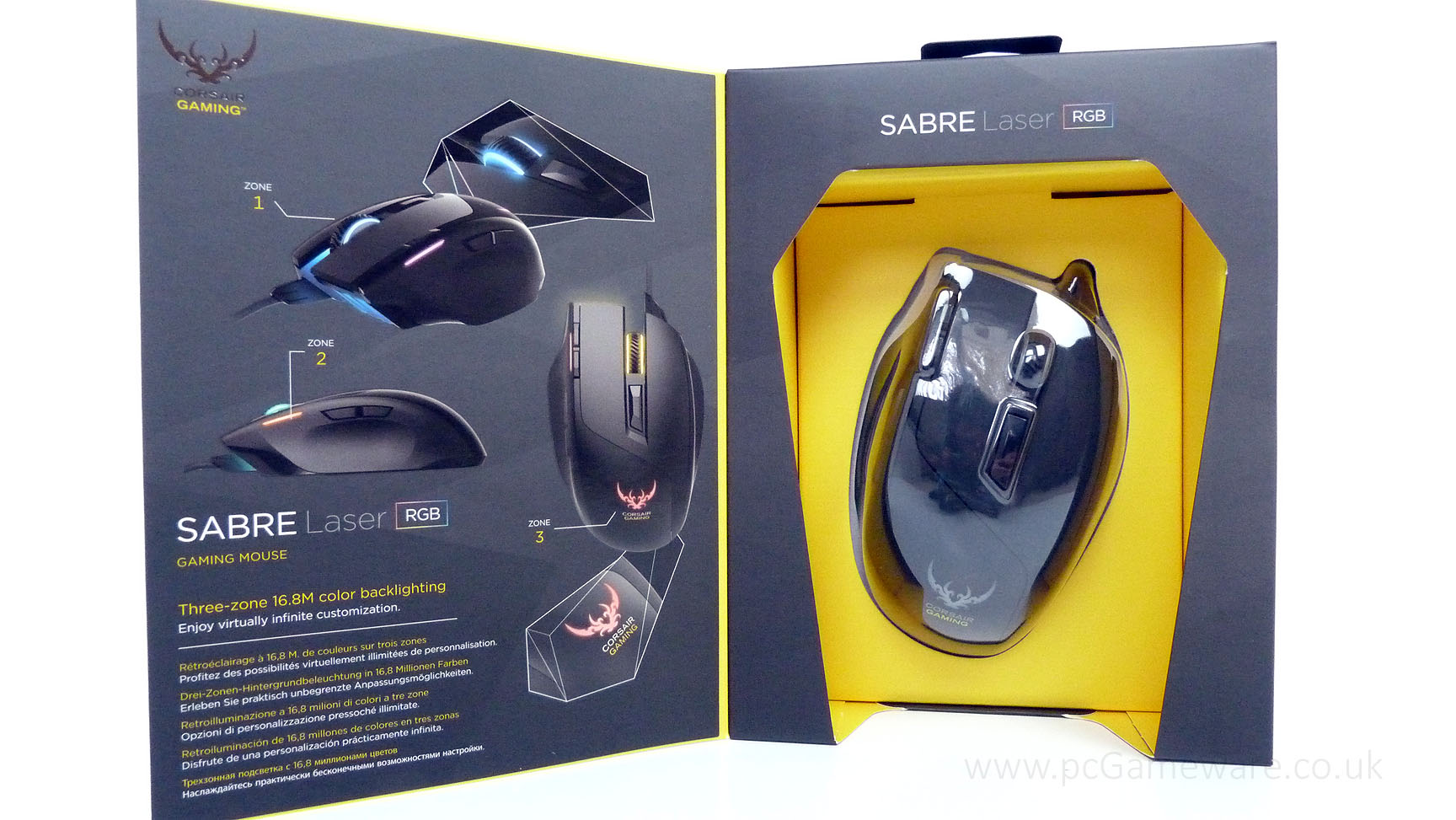 3cae2d4d969 Corsair Sabre RGB Gaming Mouse - DT Solutions - Computer sales and ...