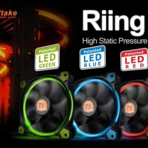 Thermaltake (120mm) Riing 12 LED Case Fan