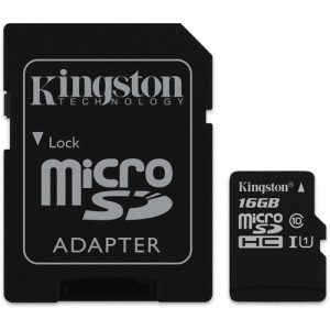 Kingston Canvas Select 16GB microSD Memory Card