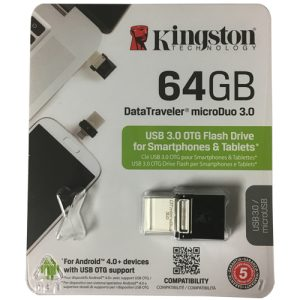 Kingston DataTraveler microDuo 3.0 OTG 64GB
