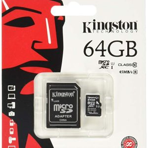 Kingston 64GB microsd card