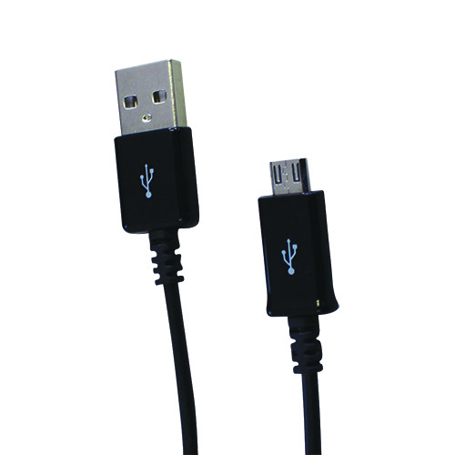 Amplify AMP-20001-BK Charge Series micro USB Charge & Sync Cable.